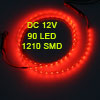 Car Truck 90 LED 1210 3528 SMD Decorative Flexible Light Bar Red 90cm