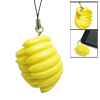 Yellow Banana Shaped Pendant Decor for Cell Phone MP3 MP4