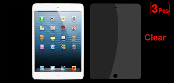 3Pcs Ultra Clear Screen Protector Guard Cover for Apple iPad Mini 16GB 32GB 64GB