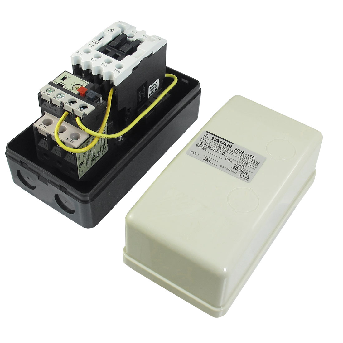 Three-Phase-AC-Contactor-Motor-Magnetic-Starter-380V-Coil-12-5-18A