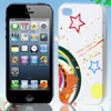 Multicolor Star Hard Back Case Cover for Apple iPhone 4 4G 4S 4GS