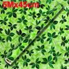 Home Dark Green Leaf Pattern Decorated Adhesive Roll 5Mx45cm