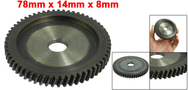 Repairing Parts 78mm x 14mm x 8mm Electric Pick Gun Gear for Hitachi PR-38E