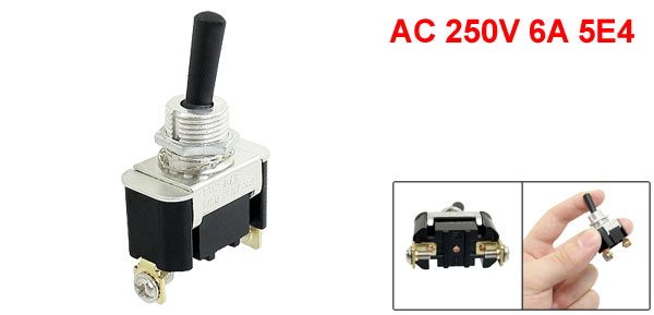 Angle Grinder DPST Momentary Switch AC 250V 6A 5E4 for KEYANG 100