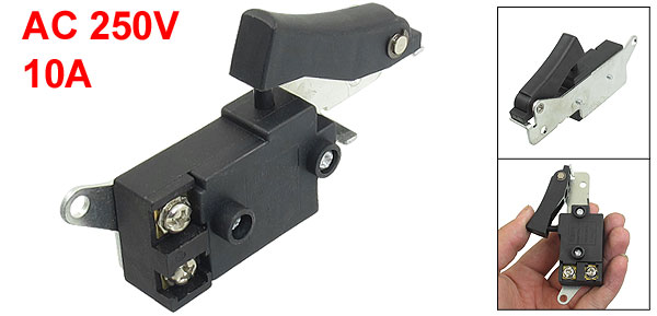 AC 250V 10A SPST NO Momentary Power Tool Switch for Hitachi 38E Electric Hammer