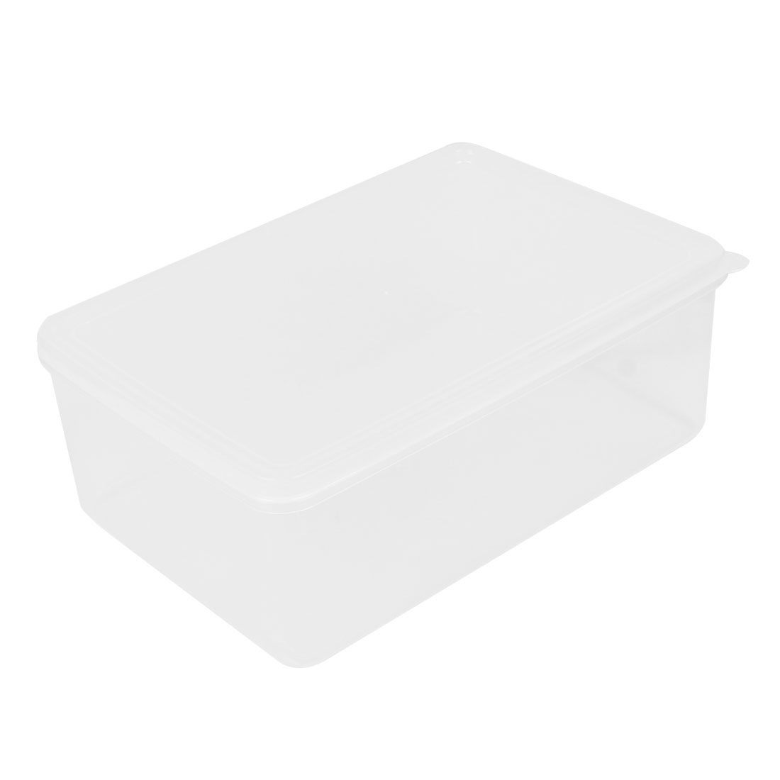 1100ml-Rectangle-Shape-Clear-Plastic-Fruit-Food-Storage-Box-Case-Container