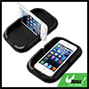 Anti Slip Black Polyurethane Sticky Flat Vertical Stand Pad for Mobile Phone