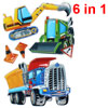 3D Truck Vehicle Pattern Self Adhesive Home Wall Decor Sticker 6 ...