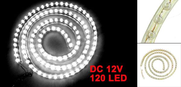 120cm Length White 120 LED Light Lamp Decoration for Vehicle Truck