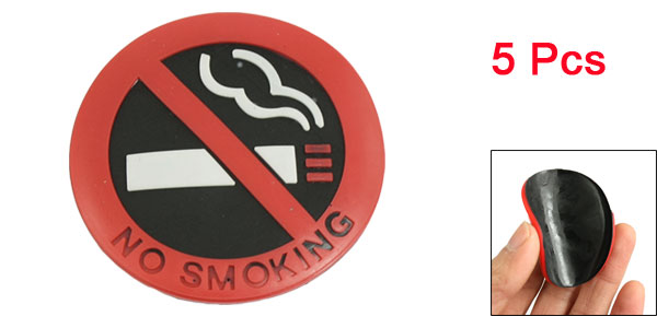 Car Truck Window No Smoking Sign Warning Sticker 2