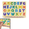 Children Educational Assorted Color Wood English Letters Toy 26 i...
