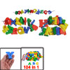 Kids Intelligence Training Plastic Multicolor A-Z English Letters...