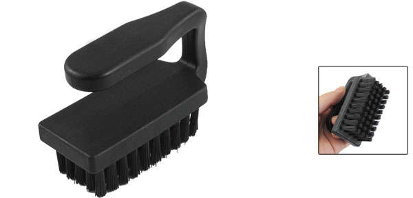 PCB Dust Cleaner Toothbrush Style Horizontal Grip Anti Static ESD Brush Black