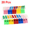 Colorful Nylon Strap Plastic Sports Game Referee Type Whistles 20...