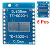 0.635mm 0.5mm Pitch Double Side TFT LCD Tester Connector Board TE...