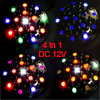 Truck Auto Car Multicolor 15 LED Round Wheel Hub Lamp Signal Ligh...