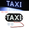 Adheisve Plastic Car Windshield 45 LED Signal Taxi Light Lamp Whi...