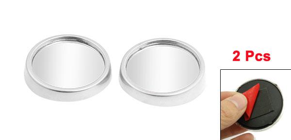 2pcs Silver Tone 1.9