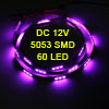 Auto Car Purple 60 5053 SMD LED Light Flexible Lamp Strip 120cm