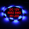 Auto Car Blue 45 5052 SMD LED Light Flexible Lamp Strip 90cm