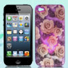 Sense Flash Light Color Changing Pink Rose Hard Back Case Cover for iPhone 4 4G 4S 4GS