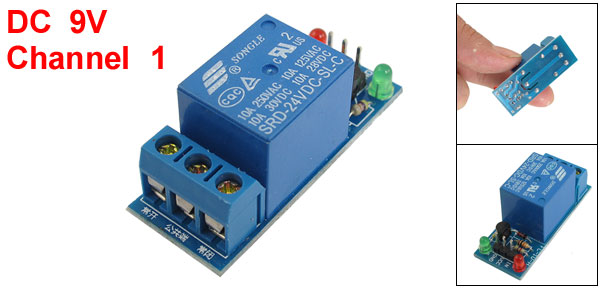 DC 24V 1-Channel High Level Trigger Relay Module for MCU DSP