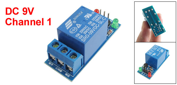 DC 9V 1-Channel High Level Trigger Relay Module for ARM DSP AVR