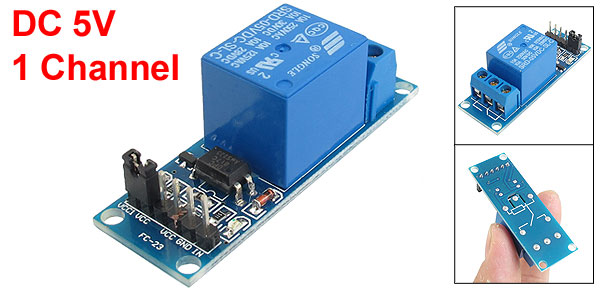 DC 5V 1-Channel Optocoupler Driver Relay Module for PIC ARM DSP AVR