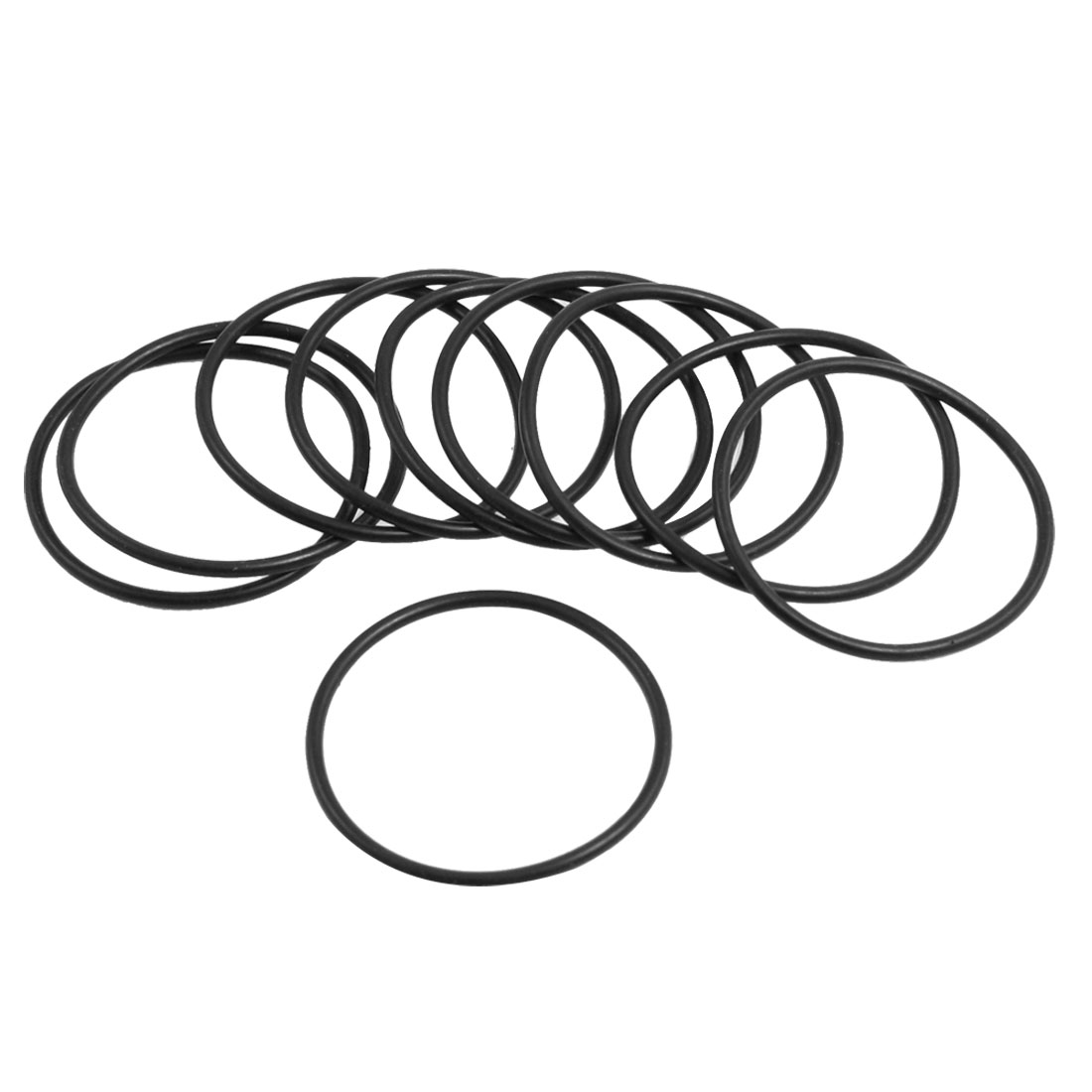 10-Pcs-Oil-Seal-O-Rings-Black-Nitrile-Rubber-30mm-OD-1-8mm-Thickness