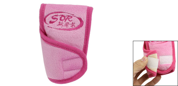 Soft Plush Truck Car Gear Shift Knob Shifter Cover Sleeve Pad Case Pink