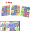 Assorted Color Eva Educational Puzzle Foam Mat 26 Alphabets w Num...