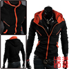 Mens 2013 Fake Twinset Kangaroo Pockets Long Sleeve Casual Hoodie...