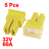 5 Pcs Yellow Female J Case Slow Blow PAL Pacific Auto Link Fuse 6...