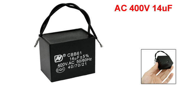 CBB61 AC 400V 14uF Air Conditioner Electric Fan Running Capacitor