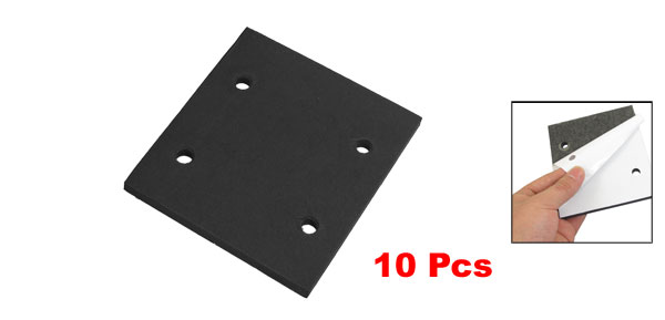 10 Pcs Self Adhesive Foam Part Sander Back Pad Sanding Mat for Makita 4510