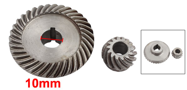 Replacement Metal Spiral Bevel Gear Set for Keyang 100 Angle Grinder