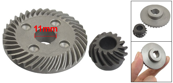Replacement Metal Spiral Bevel Gear Set for Hitachi F3 Angle Grinder