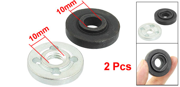 2 Pcs Replacement Angle Grinder Part Inner Outer Flange for Bosch