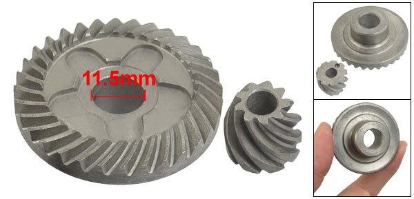 Angle Grinder Spare Parts Spiral Bevel Gear Set for Bosch 6-100