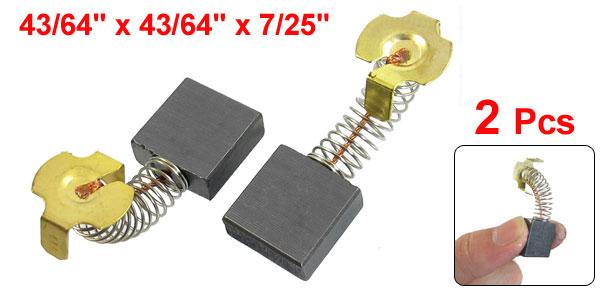 2 Pcs Electric Drill Motor Carbon Brushes 43/64