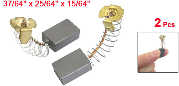 2 Pcs Electric Drill Motor Carbon Brushes 37/64