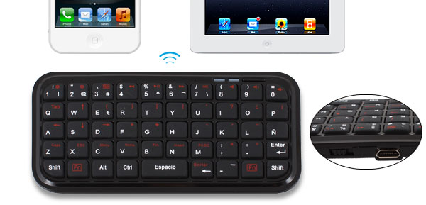 Mini Wireless bluetooth 3.0 Keyboard for iPod iPad iPhone Window Mobile