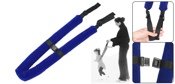 Safety Harness Walking Learning Bar Strap Dark Blue for Toddler Kids
