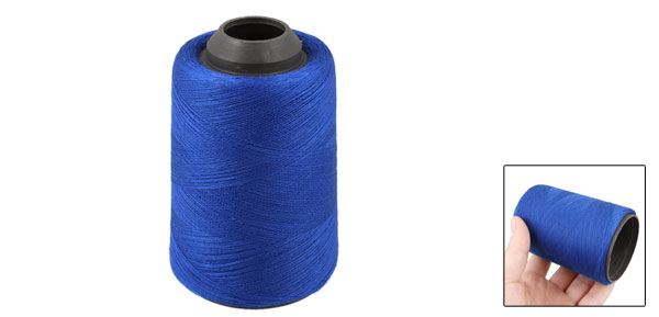 Tailor Shop Blue Polyester Darning Stitching Sewing Thread Reel