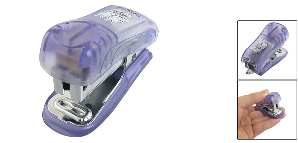 Student Paper Stapling 15 Sheet Capacity Desk Stapler Purple