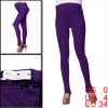 Motherhood Elastic Waistband Autumn Slim Fit Purple Cozy Anchored...