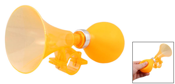 20mm Dia.Handlebar Bike Bicycle Orange Air Horn Trumpet