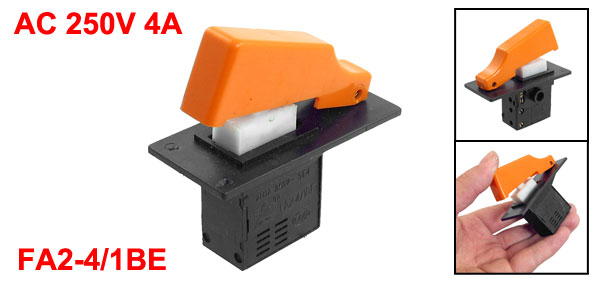 AC 250V 4A Momentary Trigger Switch for Hitachi 20 Electric Hammer