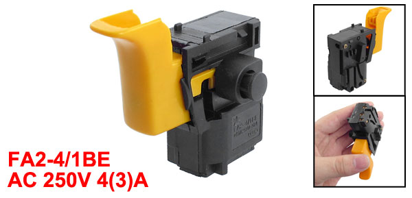 AC 250V 4(3)A Lock on Manual Trigger Switch for Bosch 2-24 Churn Drill