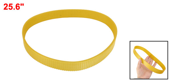 Cutting Machine Drive Driving Belt Yellow 25.6